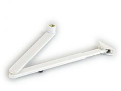 Ramínko zavírače Geze TS 2000 V / 4000 - bílá