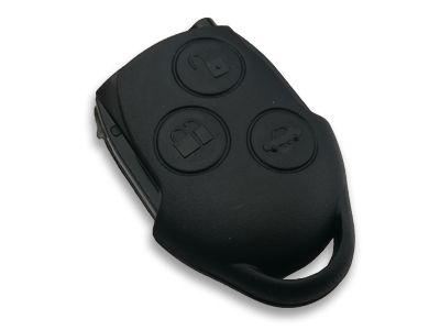 Dálkový ovladač Ford 3tl. černý bez transpondéru