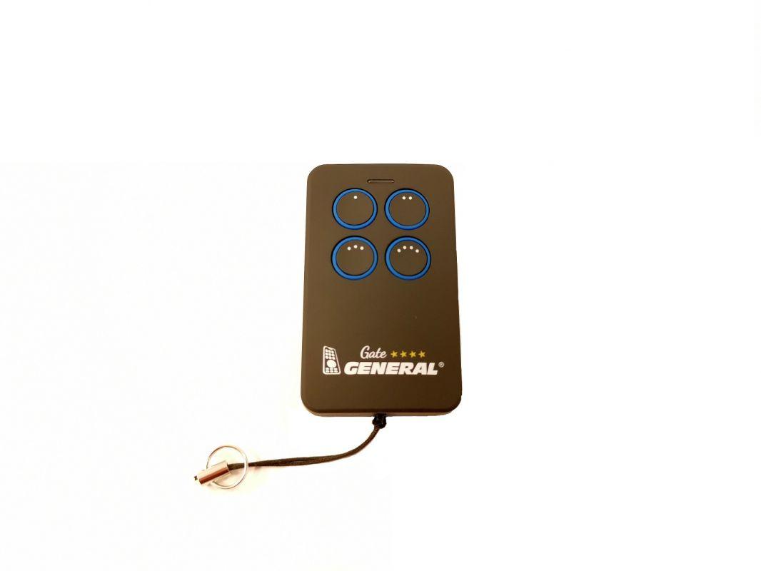 Univerzální ovladač 4-tlačítkový - modrý