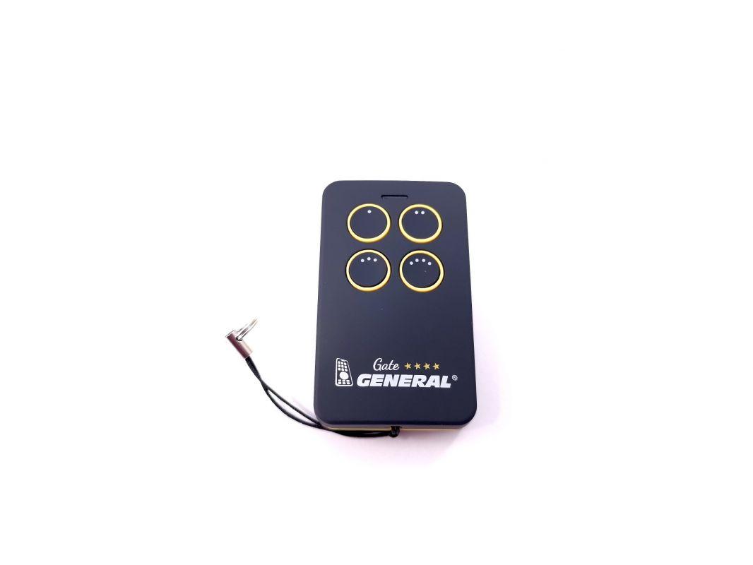 Univerzální ovladač 4-tlačítkový - žlutý