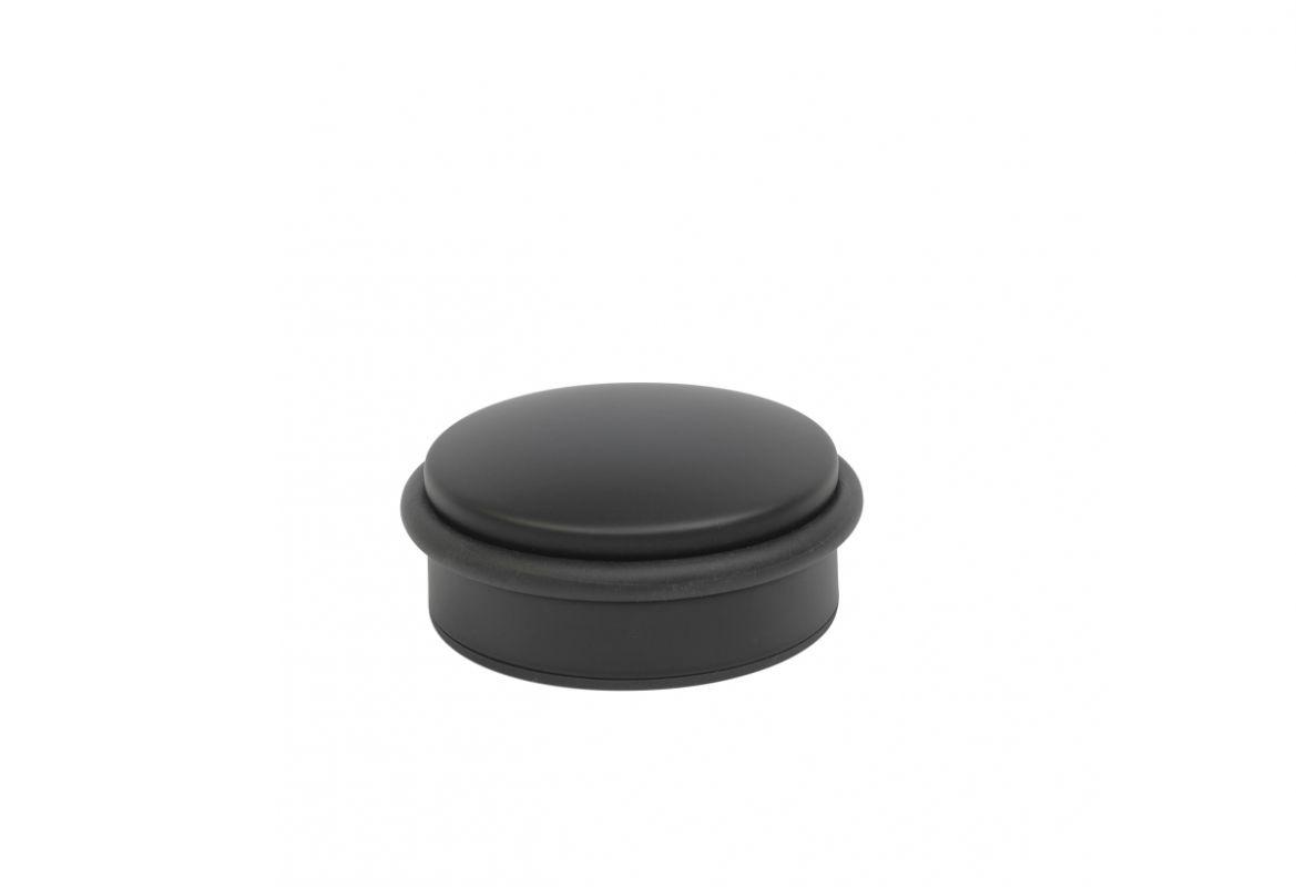 Dveřní zarážka podlahová PUK černá