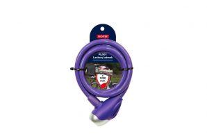 Lankový zámek barevný - fialová