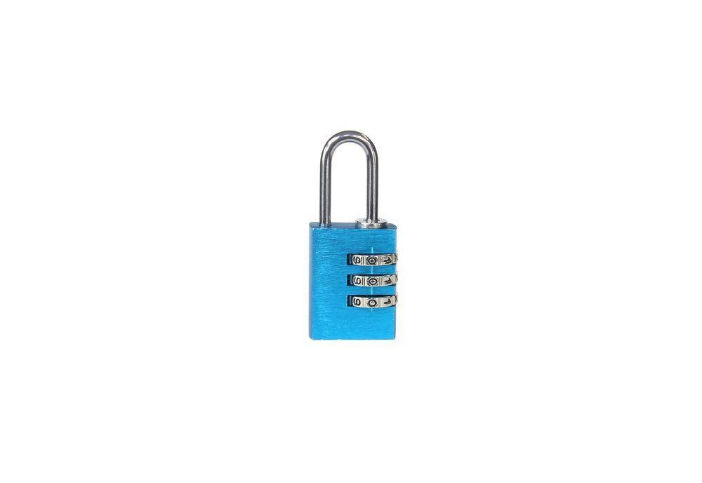 Visací zámek kódový - 30mm - modrá