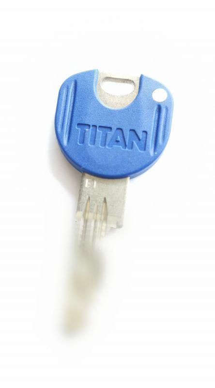 Klíč pro zámkovou vložku Titan K1 Plus