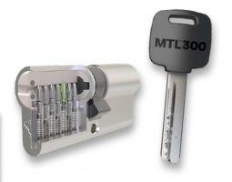 TB3 s ochranou profilu klíče - plochý klíč