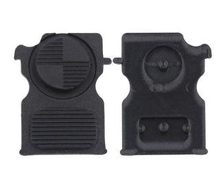 Tlačítka BMW 2tl. černé