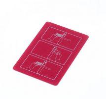 SMARTAir Programovací karta - červená, MIFARE